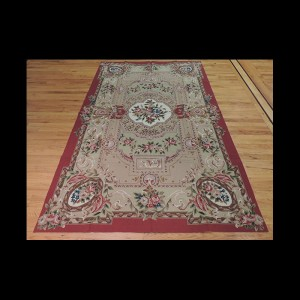 French Aubusson Design Needlepoint Oriental Area Rug 5 x 7