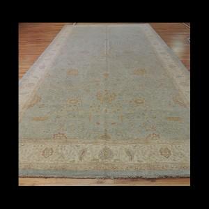 Unusual/odd size Oversize/Palace size extra-fine Peshawar Vegetable Dye Oriental Area Rug 8 x 15