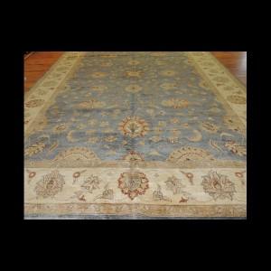 Unusual/odd size Oversize/Palace size extra-fine Peshawar Vegetable Dye Oriental Area Rug 10 x 16