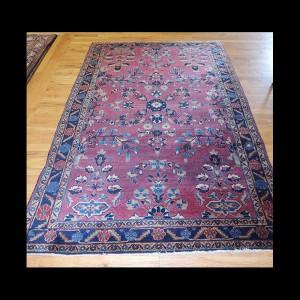 Wonderful Antique Persian Sarough Rug 4 x 6