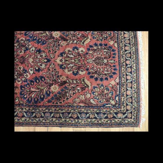 Wonderful small Antique Persian Sarough Oriental Area Rug 2 x 4
