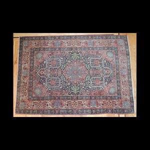 Dazzling Antique Dabiar Persian Kashan Rug 4 x 6