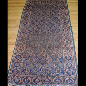 Lovely small Antique Persian Baluch Oriental Area Rug 3 x 5