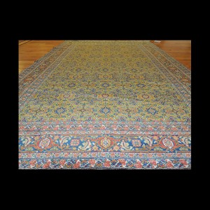 Beautiful semi-antique Persian Oriental Area Rug 4 x 6