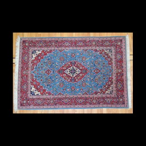 Placeholder Striking RARE Semi-Antique Persian Kashan Rug 5 x 7