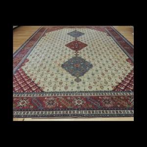 Stunning Oversize/Palace size Antique Agra Indian Oriental Area Rug 10 x 14