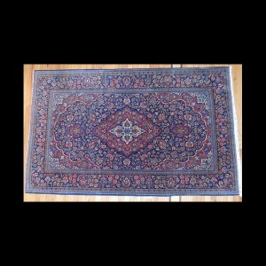 Lovely Semi-Antique Persian Kashan Rug 5 x 7