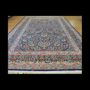 Gorgeous Antique Persian Lavar Kerman Oriental Tree of Life concept Area Rug 10 x 14