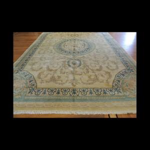 Oversize/Palace size Antique Persian Kerman French Aubusson Design Oriental Area Rug 10 x 14
