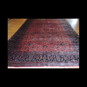 Oversize/Palace size Antique Persian Sarough Oriental Area Rug/Carpet 10 x 14
