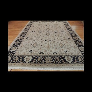 Striking Transitional Kashan Oriental Area Rug 9 x 12