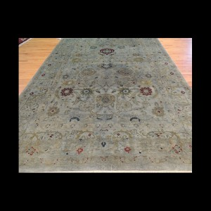 Wonderful Transitional Over-Dye Oriental Area Rug 9 x 12