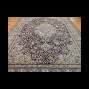Antique Genuine Persian Extraordinary Tabriz Mohajaran Naghshe 10 x 14