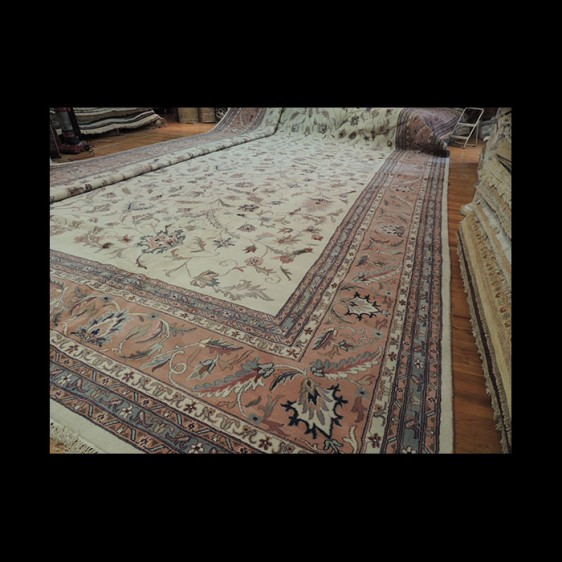 Stunning RARE size Palace/Oversize Oriental Area Rug 12 x 22