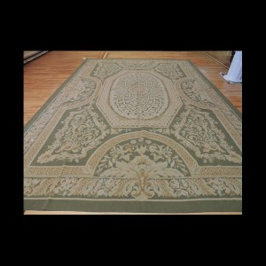 Beautiful Large French Aubusson Style Oriental Area Rug 10 x 14