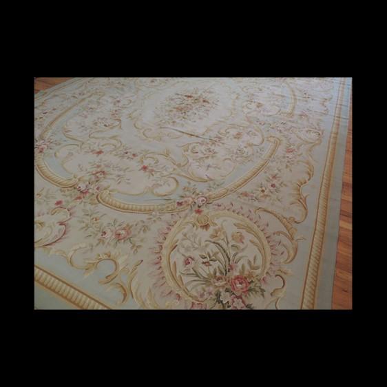 Splendid Oversize/Palace French Aubusson Style Oriental Area Rug 12 x 16