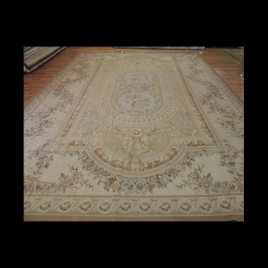 Attractive Oversize/Palace French Aubusson Style Oriental Area Rug 12 x 16