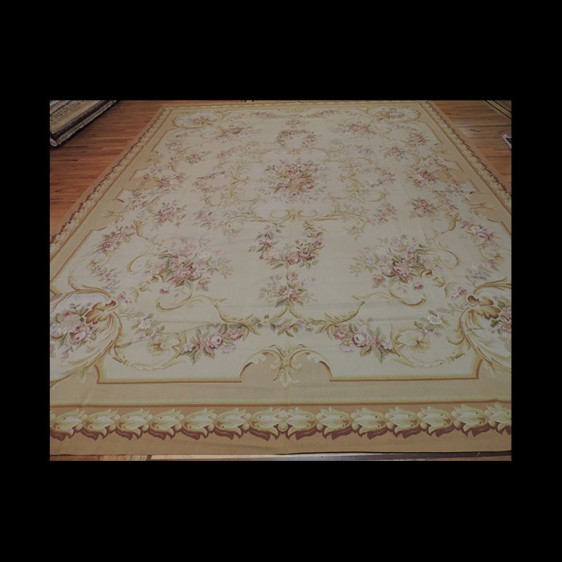 Exquisite Oversize/Palace French Aubusson Style Oriental Area Rug 12 x 15
