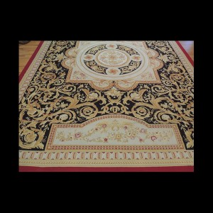Striking Oversize/Palace French Aubusson Style Oriental Area Rug 12 x 19