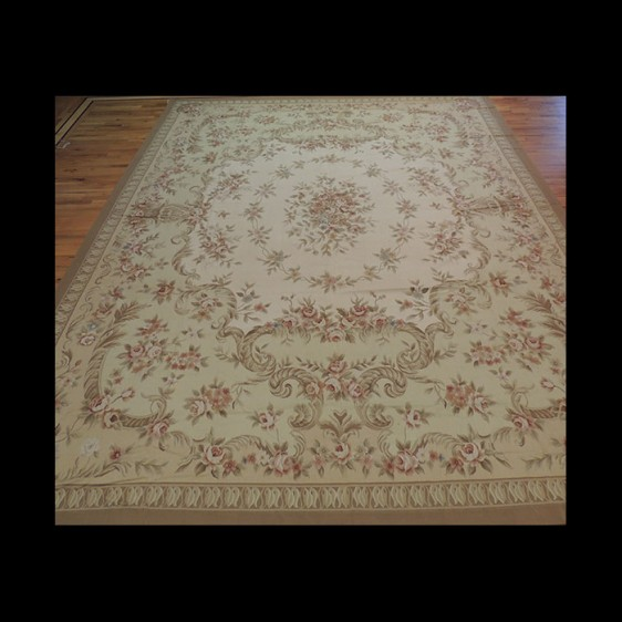 Dazzling Oversize/Palace French Aubusson Style Oriental Area Rug 12 x 15