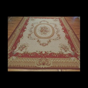Radiant Oversize/Palace French Aubusson Style Oriental Area Rug 12 x 15