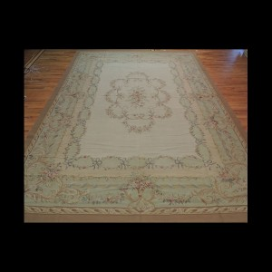 Beautiful Oversize/Palace French Aubusson Style Oriental Area Rug 11 x 15