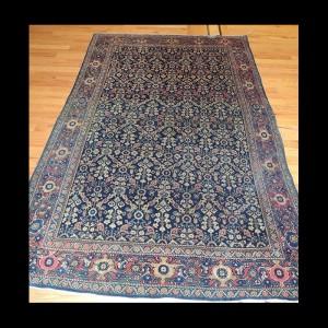 Wonderful Antique Persian Sarough Mahajran Rug 4 x 6