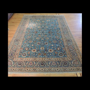 Very RARE Antique Persian Kashan Rug 9 x 12 JKC#29