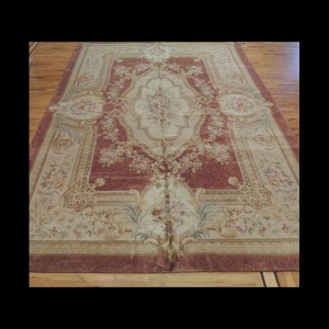 Elegant French Savonnerie Oriental Area Rug 10 x 14
