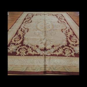 Gorgeous Unique French Savonnerie Design Oriental Area Rug 10 x 14