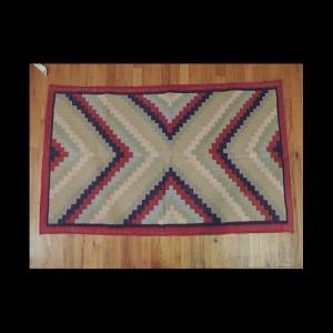 Colorful Kilim Reversible Cotton Area Rug 3 x 5