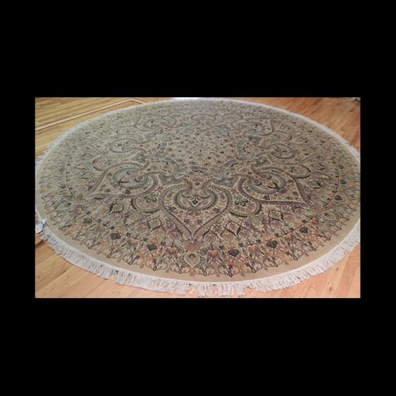 Placeholder Gorgeous Tabriz Spire Round Oriental Area Rug 10 x 10