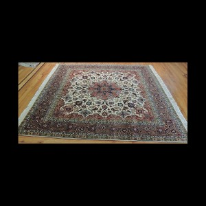 Magnificent Square Persian Oriental Area Rug 6 x 6