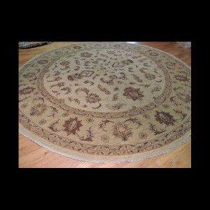 Outstanding Peshawar Round Oriental Antique look Area Rug 12 X 12