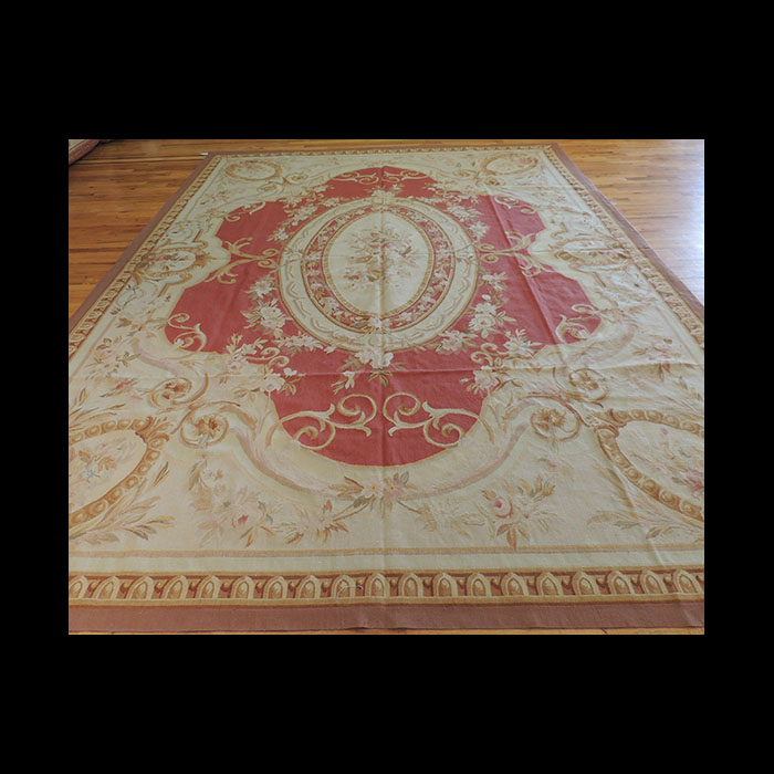 Placeholder Lovely French Aubusson Area Rug 9 X 12