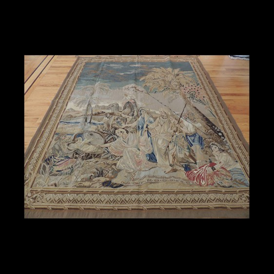 """Beautiful """"Moses"""" French Tapestry 5 x 7"""