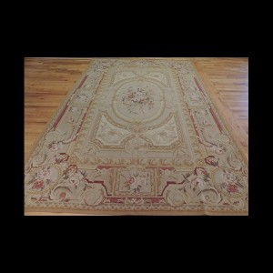 Outstanding French Aubusson Design Oriental Area Rug 6 x 9