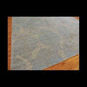 Bombo Wool & Silk 8 x 10 Modern Oriental Area Rug