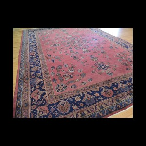 Antique Turkish Oriental Area Rug 9x12