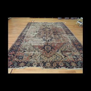 Antique Persian Serapi wool Oriental Area Rug 8x10