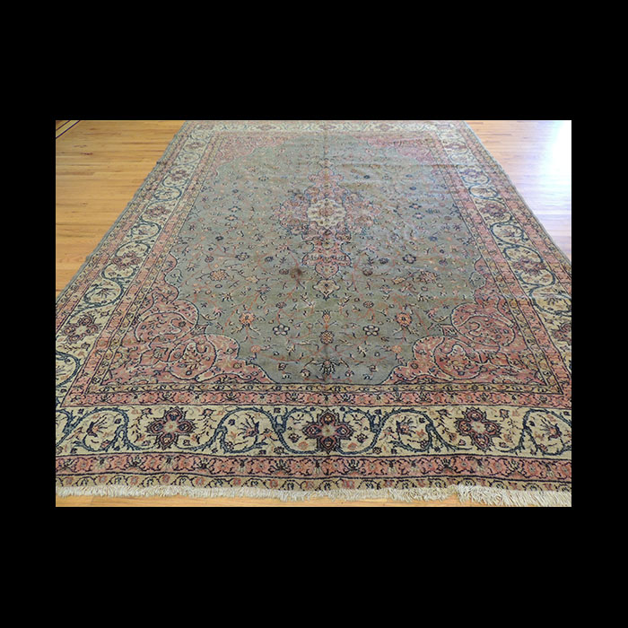 Antique Persian Mahal Wool Oriental Area Rug 8 X 10 Jkc Rl72 The