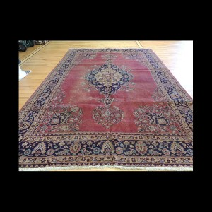 Semi-Antique Turkish Sparta wool Oriental Area Rug 8 x 10