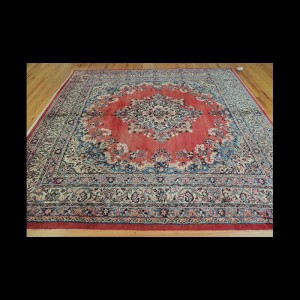 Antique Square Persian Hamadan wool Oriental Area Rug 8x8